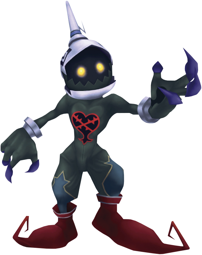 Render of a Stealth Soldier from Kingdom Hearts Final Mix.
