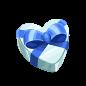 "The Gift Heart<span style=""font-weight: normal"">&#32;(<span class=""t_nihongo_kanji"" style=""white-space:nowrap"" lang=""ja"" xml:lang=""ja"">ギフトハート</span><span class=""t_nihongo_comma"" style=""display:none"">,</span>&#32;<i>Gifuto hāto</i><span class=""t_nihongo_help noprint""><sup><span class=""t_nihongo_icon"" style=""color: #00e; font: bold 80% sans-serif; text-decoration: none; padding: 0 .1em;"">?</span></sup></span>)</span> of the 2015 White Day event."