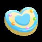 "The Macaron Heart<span style=""font-weight: normal"">&#32;(<span class=""t_nihongo_kanji"" style=""white-space:nowrap"" lang=""ja"" xml:lang=""ja"">マカロンハート</span><span class=""t_nihongo_comma"" style=""display:none"">,</span>&#32;<i>Makaron hāto</i><span class=""t_nihongo_help noprint""><sup><span class=""t_nihongo_icon"" style=""color: #00e; font: bold 80% sans-serif; text-decoration: none; padding: 0 .1em;"">?</span></sup></span>)</span> of the 2015 White Day event."