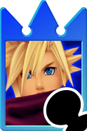 Sprite of the Cloud card from Kingdom Hearts Re:Chain of Memories.