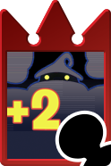 Sprite of the Almighty Darkness card from Kingdom Hearts Re:Chain of Memories.