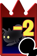 Sprite of the Feeble Darkness card from Kingdom Hearts Re:Chain of Memories.