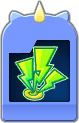 Sprite of the Thundaga Flick Rush evolved card from Dream Drop Distance.