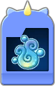 Sprite of the Waterga Flick Rush evolved card from Dream Drop Distance.