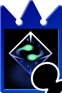 Sprite of the Moment's Reprieve card from Kingdom Hearts Re:Chain of Memories