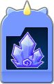 Sprite of the Ice Zone Flick Rush evolved card from Dream Drop Distance.
