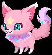 "A Pink Kitstar<span style=""font-weight: normal"">&#32;(<span class=""t_nihongo_kanji"" style=""white-space:nowrap"" lang=""ja"" xml:lang=""ja"">ネコスター【ピンク】</span><span class=""t_nihongo_comma"" style=""display:none"">,</span>&#32;<i>Neko Sutā [Pinku]</i><span class=""t_nihongo_help noprint""><sup><span class=""t_nihongo_icon"" style=""color: #00e; font: bold 80% sans-serif; text-decoration: none; padding: 0 .1em;"">?</span></sup></span>)</span> Spirit."