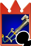 Sprite of the Olympia card from Kingdom Hearts Re:Chain of Memories.
