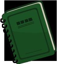 "The rulebook<span style=""font-weight: normal"">&#32;(<span class=""t_nihongo_kanji"" style=""white-space:nowrap"" lang=""ja"" xml:lang=""ja"">掟の書</span><span class=""t_nihongo_comma"" style=""display:none"">,</span>&#32;<i>okite no sho</i><span class=""t_nihongo_help noprint""><sup><span class=""t_nihongo_icon"" style=""color: #00e; font: bold 80% sans-serif; text-decoration: none; padding: 0 .1em;"">?</span></sup></span>)</span> seen in various cutscenes."