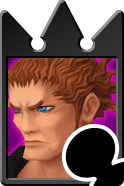 Sprite of the Lexaeus card from Kingdom Hearts Re:Chain of Memories.