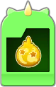 Sprite of the Elixir Flick Rush evolved card from Dream Drop Distance.