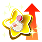 """The Gold Mog Booster<span style=""""font-weight: normal"""">&#32;(<span class=""""t_nihongo_kanji"""" style=""""white-space:nowrap"""" lang=""""ja"""" xml:lang=""""ja"""">ゴールドモグブースター</span><span class=""""t_nihongo_comma"""" style=""""display:none"""">,</span>&#32;<i>Gōrudo mogu būsutā</i><span class=""""t_nihongo_help noprint""""><sup><span class=""""t_nihongo_icon"""" style=""""color: #00e; font: bold 80% sans-serif; text-decoration: none; padding: 0 .1em;"""">?</span></sup></span>)</span> of the 2nd Anniversary event."""