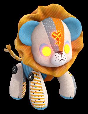 Patchwork Animals (Lion