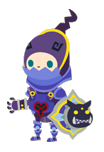"""Defender costume from """"Kingdom Hearts Mobile""""."""
