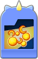 Sprite of the Mega Flare Flick Rush evolved card from Dream Drop Distance.