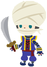Bandit costume from Kingdom Hearts Mobile.