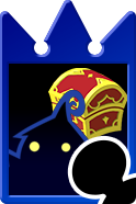 Sprite of the Guarded Trove card from Kingdom Hearts Re:Chain of Memories.