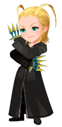 Larxene, as seen during the data rematch fight of the New Organization XIII Event in December 2018.