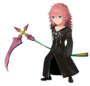 Marluxia (Battle) KHUX.png
