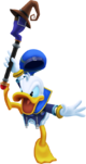 Donald Duck (Battle) KHII.png
