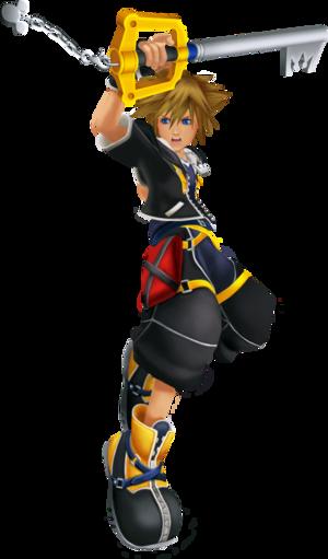 Sora (Battle) KHII.png