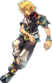 Artwork of Ventus for Birth by Sleep Final Mix.