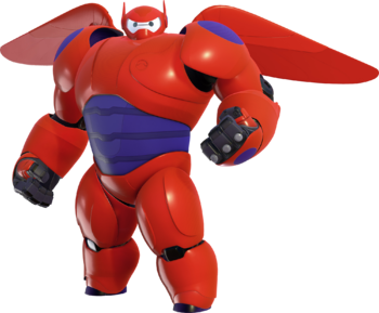 Official render for Baymax in Kingdom Hearts III