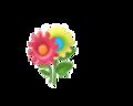 Flower Sticker (Aqua)3.png