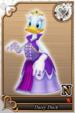 Daisy card (card 185) from Kingdom Hearts χ