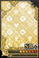 an empty SR+ Upright card