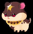 Chocolate Hamstar (Spirit) KHUX.png
