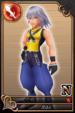 Riku card 28 from Kingdom Hearts χ