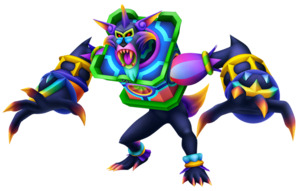 An enemy from Kingdom Hearts 3D, one of many Dream Eaters which will be present in the game. Credit to GrandTheftFreak for the high quality of the image. Taken from Kingdom Hearts wikia.