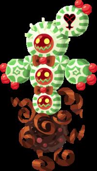 "The Swing Cactus<span style=""font-weight: normal"">&#32;(<span class=""t_nihongo_kanji"" style=""white-space:nowrap"" lang=""ja"" xml:lang=""ja"">スウィングカクタス</span><span class=""t_nihongo_comma"" style=""display:none"">,</span>&#32;<i>Suwingu Kakutasu""</i><span class=""t_nihongo_help noprint""><sup><span class=""t_nihongo_icon"" style=""color: #00e; font: bold 80% sans-serif; text-decoration: none; padding: 0 .1em;"">?</span></sup></span>)</span> Heartless from Quest 925+."