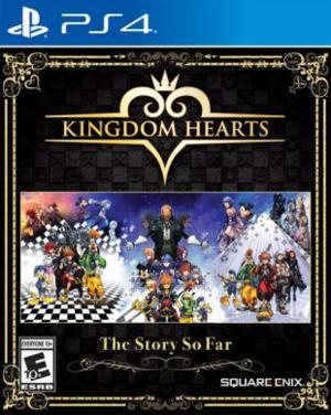 Reprint Boxart for Kingdom Hearts The Story So Far