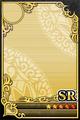 an empty SR Upright card