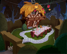 The Tea Party Garden of Wonderland