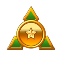 The G Merit Rank icon