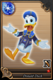 Donald Duck card (card 49) from Kingdom Hearts χ
