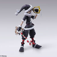 Kingdom Hearts II Sora Christmas Town Bring Arts Figures Image
