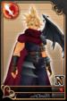 Cloud card (card 115) from Kingdom Hearts χ