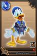 Donald Duck card (card 50) from Kingdom Hearts χ