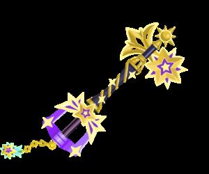 "The fourth upgrade of the Starlight<span style=""font-weight: normal"">&#32;(<span class=""t_nihongo_kanji"" style=""white-space:nowrap"" lang=""ja"" xml:lang=""ja"">スターライト</span><span class=""t_nihongo_help noprint""><sup><span class=""t_nihongo_icon"" style=""color: #00e; font: bold 80% sans-serif; text-decoration: none; padding: 0 .1em;"">?</span></sup></span>)</span> Keyblade."