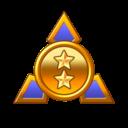 The F Merit Rank icon
