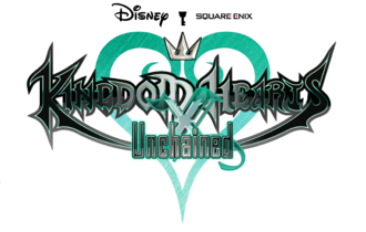 Logo for Kingdom Hearts Unchained χ