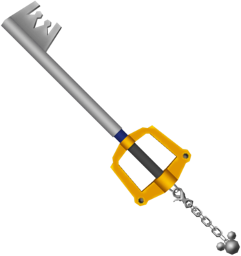 Xion, Roxas, and Sora's Keyblade Featured Media for July 2008.