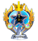 November 2014 Featured User Medal.png