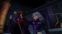 Ansem addresses the existence of other worlds and their connections.