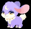 Purple Bunmoon (Spirit) KHUX.png