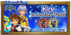 Banner from the Final Fantasy Record Keeper event